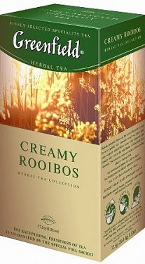 Greenfield Creamy Rooibos (25 шт.)
