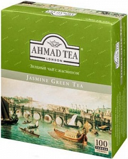 Ahmad Green Tea Jasmin (100 шт.)