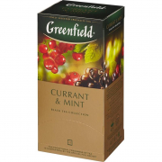 Greenfield Currant and Mint 25*1.8 гр.
