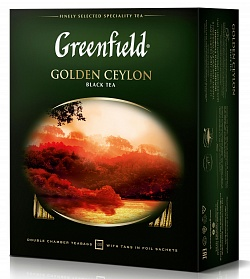Greenfield Golden Ceylon (100 шт.)