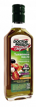 Тыквенное масло «Doctor Maslov Original», 250мл в стекле